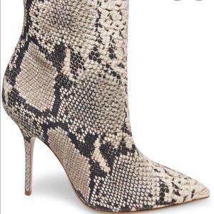 STEVE MADDEN Ashton snakeskin heels